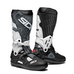 Sidi Atojo SRS MX Boots - White/Black/Grey