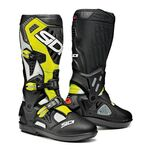Sidi Atojo SRS MX Boots - White/Black/Yellow
