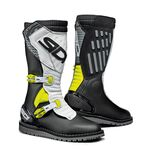 Sidi Trial Zero 2 Boots - Black/Yellow/White