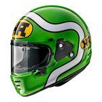 Arai Rapide HA - Green | Arai Helmets at Two Wheel Centre