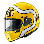 Arai Rapide HA - Yellow | Arai Helmets at Two Wheel Centre