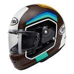 Arai Rapide Number - Brown | Arai Helmets at Two Wheel Centre