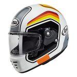 Arai Rapide Number - White | Arai Helmets at Two Wheel Centre