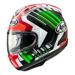 Arai RX-7V Jonathan Rea Green | Arai Helmets at Two Wheel Centre