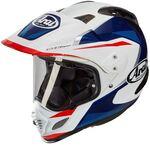 Arai Tour-X4 Break Blue White Red Helmet | Arai Helmets at Two Wheel Centre