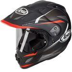 Arai Tour-X4 Break Red Helmet | Arai Helmets at Two Wheel Centre