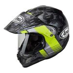 Arai Tour-X4 Cover Yellow Helmet | Arai Helmets at Two Wheel Centre