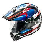 Arai Tour-X4 Depart Blue Metallic Helmet | Arai Helmets at Two Wheel Centre