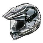 Arai Tour-X4 Depart Gun Metallic Helmet | Arai Helmets at Two Wheel Centre