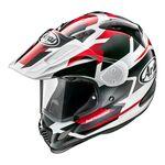 Arai Tour-X4 Depart Red Metallic Helmet | Arai Helmets at Two Wheel Centre