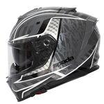 Spada SP1 Helmet - Raptor Graphic - Black/Grey | Spada Helmets at Two Wheel Centre | Free UK Delivery