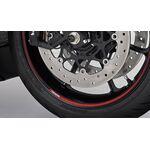 Suzuki Hayabusa Outer Wheel Rim Decal - Tapered Red