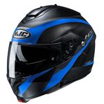 HJ C91 Taly - Black/Blue | HJC Helmets at Two Wheel Centre | Free UK Delivery