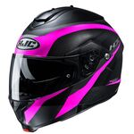HJ C91 Taly - Black/Pink | HJC Helmets at Two Wheel Centre | Free UK Delivery