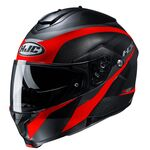 HJ C91 Taly - Black/Red | HJC Helmets at Two Wheel Centre | Free UK Delivery
