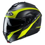 HJ C91 Taly - Black/Yellow | HJC Helmets at Two Wheel Centre | Free UK Delivery