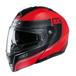 HJC i90 Davan - Red | HJC Helmets at Two Wheel Centre | Free UK Delivery