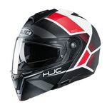 HJC i90 Hollen - Red | HJC Helmets at Two Wheel Centre | Free UK Delivery