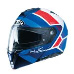 HJC i90 Hollen - Red/White/Blue | HJC Helmets at Two Wheel Centre | Free UK Delivery