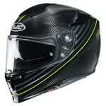 HJC RPHA 70 Carbon Fibre Artan - Fluo Yellow | HJC Helmets at Two Wheel Centre | Free UK Delivery