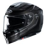 HJC RPHA 70 Carbon Fibre Reple - Black | HJC Helmets at Two Wheel Centre | Free UK Delivery
