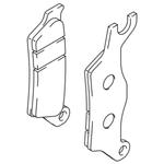 Suzuki GSX-R125 Front Brake Pad Set