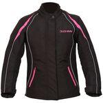 Duchinni Vienna CE Ladies Textile Jacket - Black/Pink