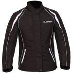 Duchinni Vienna CE Ladies Textile Jacket - Black/White