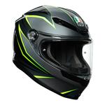 AGV K6 Flash - Gloss Grey/Black/Lime