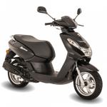 Peugeot Kisbee Active 50cc - Euro 5 - Black