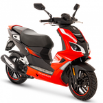 Peugeot Speedfight 4 50cc - Flat Red | Two Wheel Centre | Peugeot Scooter Dealers, Mansfield, Notts, UK