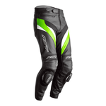 RST Tractech Evo 4 Leather Jeans - Black / Green / White