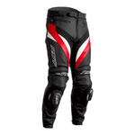 RST Tractech Evo 4 Leather Jeans - Black / Red / White