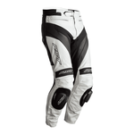 RST Tractech Evo 4 Leather Jeans - White / Black