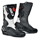 Sidi Fusion motorcycle boots black white