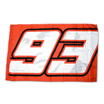 Marc Marquez 93 VR46 Track Flag Red