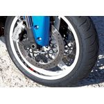 Suzuki GSXR 600 750 1000 Wheel Rim Decal