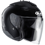 HJC IS-33 2 Black Open Face Helmet Black
