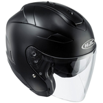 HJC IS-33 2 Matt Black Open Face Helmet Black