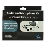 Cardo Scala Rider PackTalk audio microphone kit