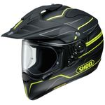 Shoei Hornet ADV Navigate TC3 Yellow motorcycle helmet
