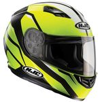 HJC CS-15 Sebka Fluo Yellow Helmet