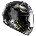 HJC CS-15 Songtan Fluo Green Helmet