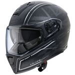 Caberg Drift Armour Helmet Matt Black Silver
