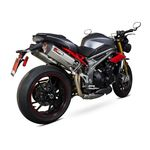 Scorpion Serket Twin Exhaust Triumph Speed Triple 2016