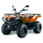 Quadzilla Terrain 450 4x4 EFI high spec quad orange