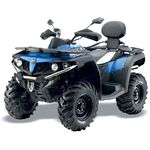 Quadzilla Terrain 550 LWB 4x4 EFI road legal quad blue
