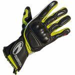 Richa WSS Gloves Black White and Yellow