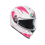 AGV K3 SV Izumi White / Pink Helmet