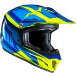 HJC CL-XY 2 Bator - Blue / Yellow Childrens MX Helmet